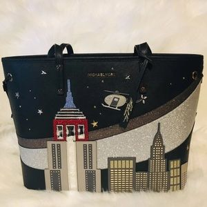 Michael Kors New York Skyline Tote